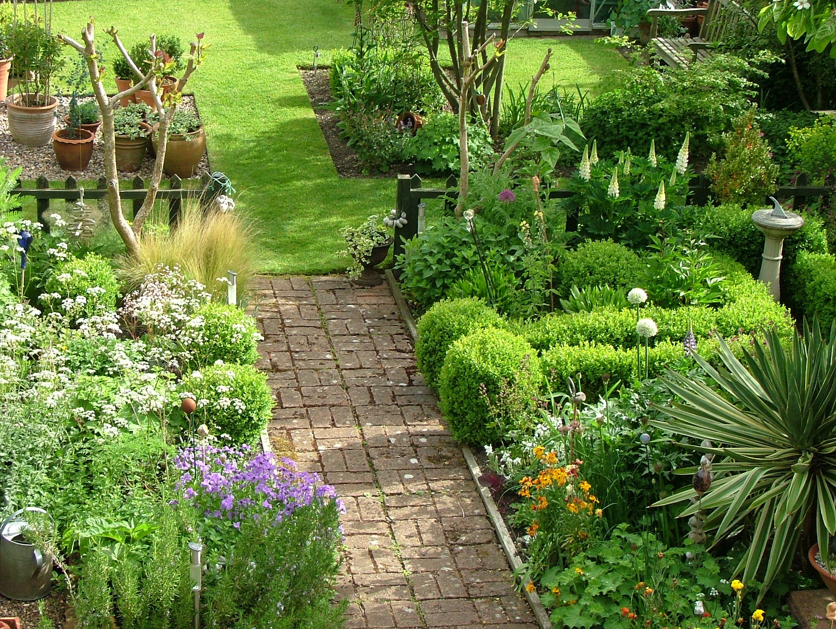 Flower power away from the drawing board for Rural garden designs