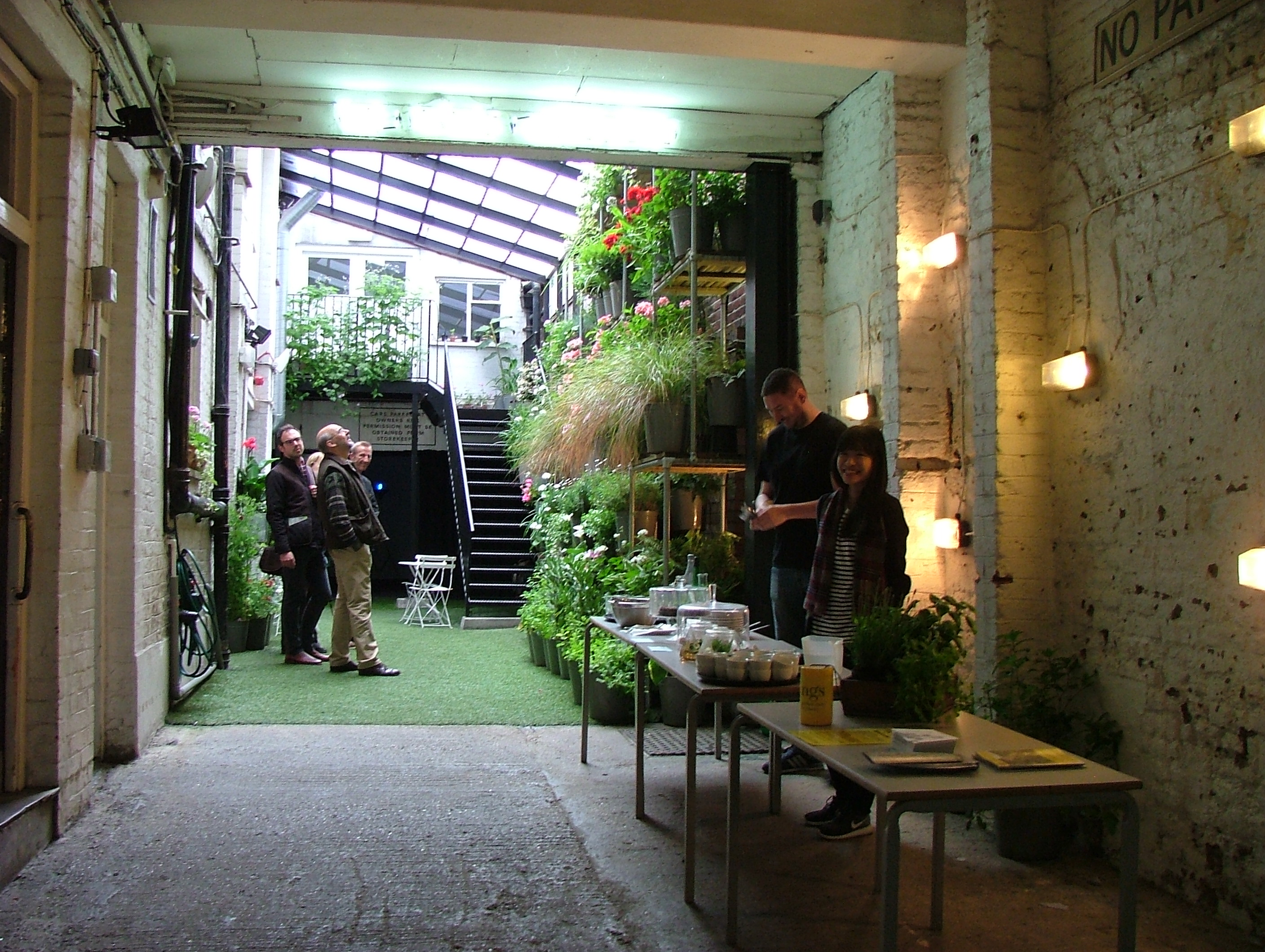 The Secret Gardens Of Spitalfields Away From The Drawing Board