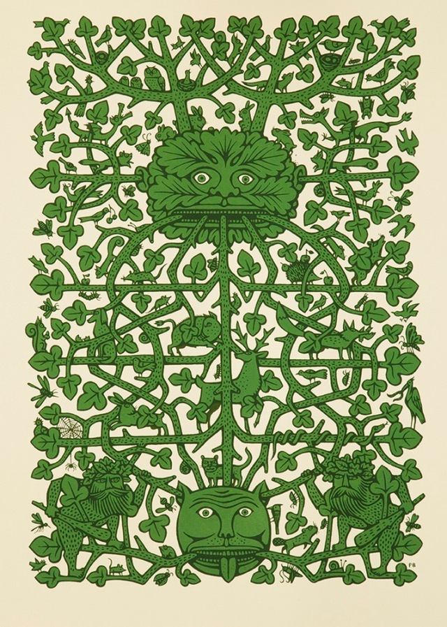 Green-Man-lores
